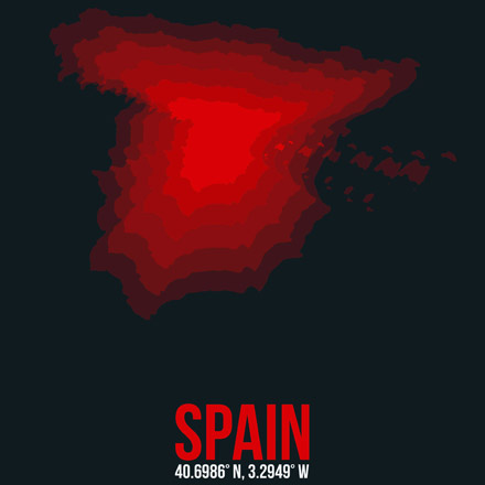 Spain Radiant Map 1