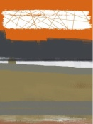 NAXART Studio - Abstract Orange 1