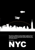 NAXART Studio - New York Night Poster