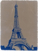 NAXART Studio - Eiffel Tower Blue