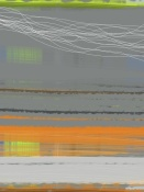 NAXART Studio - Abstract Orange Stripe1