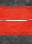 NAXART Studio - Grey And Red Abstract 2