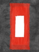 NAXART Studio - Grey And Red Abstract 4