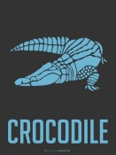 NAXART Studio - Crocodile Blue
