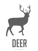 NAXART Studio - Deer Black
