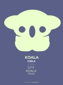 NAXART Studio - Yellow Koala  Multilingual Poster