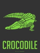 NAXART Studio - Crocodile Green