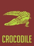 NAXART Studio - Crocodile Yellow