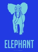 NAXART Studio - Elephant Blue