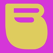 NAXART Studio - Letter B Yellow