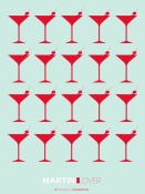 NAXART Studio - Martini Lover Red