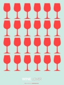 NAXART Studio - Wine Lover Red