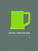 NAXART Studio - Green Beer Mug