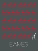 NAXART Studio - Eames Chair Red Poster