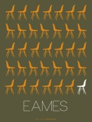 NAXART Studio - Eames Chair Yellow Poster