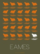 NAXART Studio - Eames Rocking Chair Poster