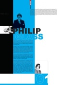 NAXART Studio - Philip Glass Poster