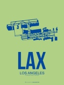 NAXART Studio - LAX Los Angeles Poster 1