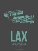 NAXART Studio - LAX Los Angeles Poster 2