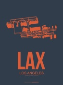 NAXART Studio - LAX Los Angeles Poster 3