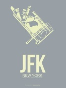 NAXART Studio - JFK New York Poster 1