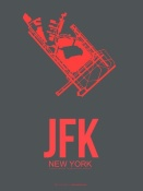 NAXART Studio - JFK New York Poster 2