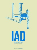NAXART Studio - IAD Washington Poster 1