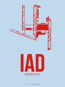 NAXART Studio - IAD Washington Poster 2