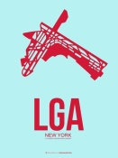 NAXART Studio - LGA New York Poster 2