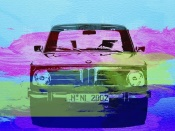 NAXART Studio - BMW 2002 Front Watercolor 1