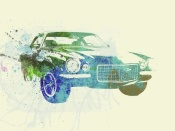 NAXART Studio - Chevy Camaro Watercolor