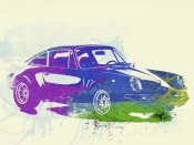 NAXART Studio - Porsche 911 Watercolor