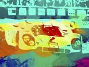 NAXART Studio - Porsche 917 Watercolor