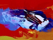 NAXART Studio - Lancia Stratos Watercolor 2