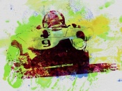 NAXART Studio - Classic Ferrari on Race Track