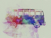 NAXART Studio - VW Bus Watercolor