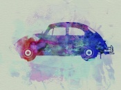 NAXART Studio - VW Beetle Watercolor 1