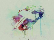 NAXART Studio - Ford GT Top Watercolor