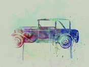 NAXART Studio - Old Car watercolor
