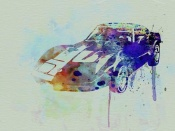 NAXART Studio - Corvette watercolor
