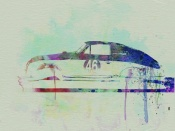 NAXART Studio - Porsche 356 Watercolor