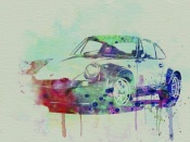 NAXART Studio - Porsche 911 Watercolor 2