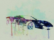 NAXART Studio - Ford GT Watercolor 2