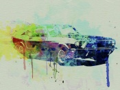 NAXART Studio - Ford Mustang Watercolor 2
