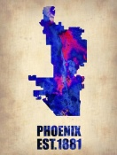 NAXART Studio - Phoenix Watercolor Map