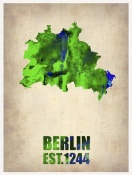 NAXART Studio - Berlin Watercolor Map