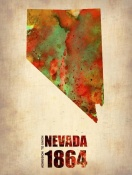 NAXART Studio - Nevada Watercolor Map