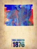 NAXART Studio - Colorado Watercolor Map