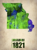 NAXART Studio - Missouri Watercolor Map