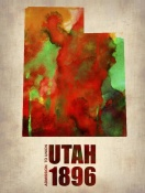 NAXART Studio - Utah Watercolor Map